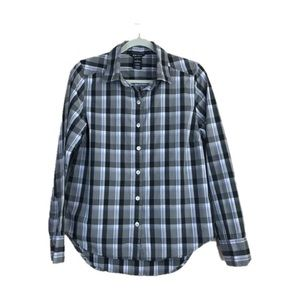 Oakley Plaid Button Up Shirt Size M